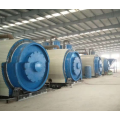Semi-automatic old rubber pyrolysis equipment