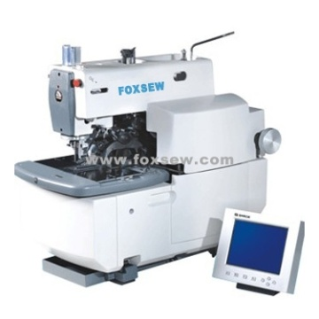 Electronic Eyelet Button Hole Machine