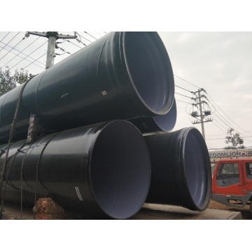 PE coated composite steel pipe