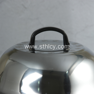 Thick Stainless Steel Cooking Pot Lid Heightening Cover