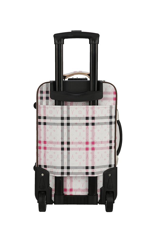 EVA Printed Softside Spinner luggage