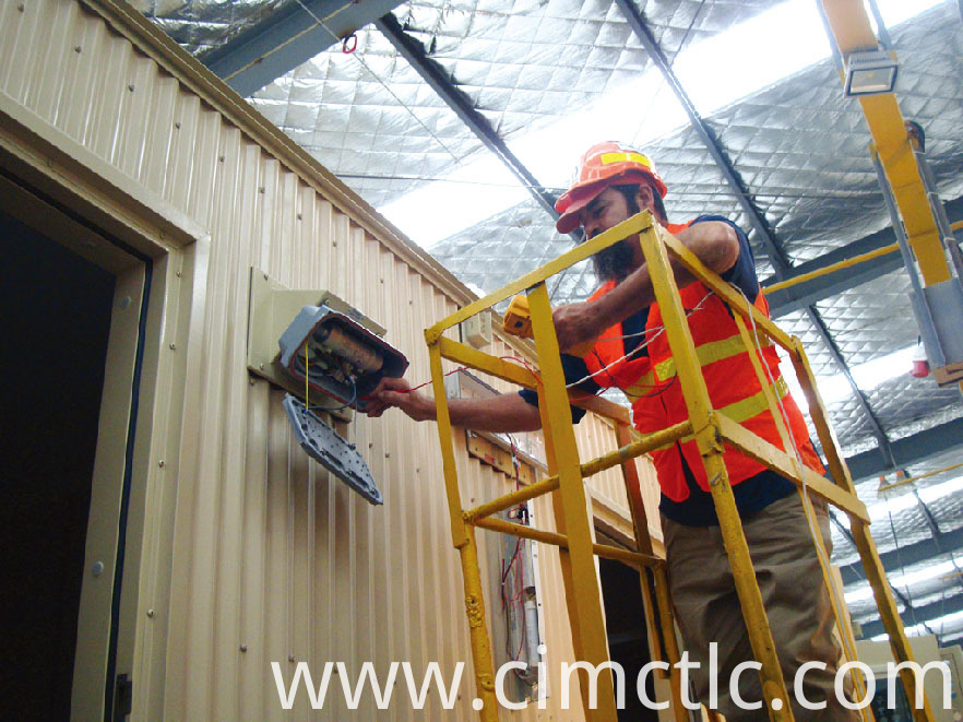electrical test for Modular Administration Office Container Type