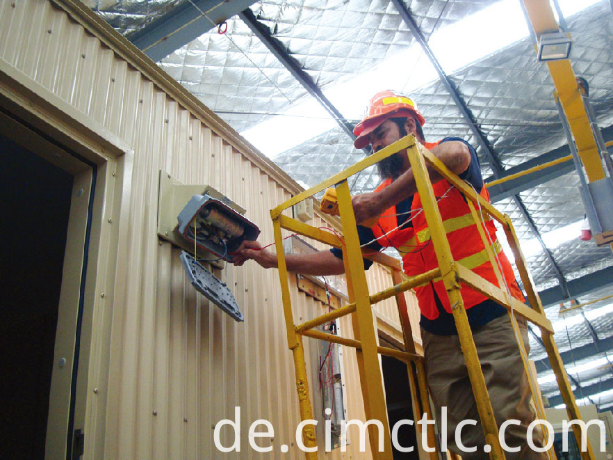 electrical test for Modular Recreation Room Flatpack Type