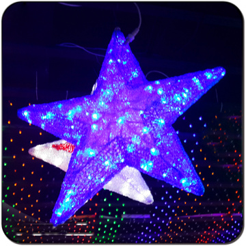 Blue color IP65 waterproof  star lights malaysia