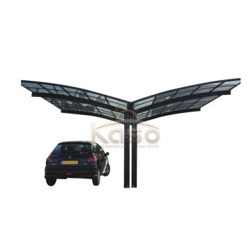 Cantilever Aluminum Canopy Garage With Polycarbonate Roof