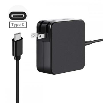 US 65W PD USB-C Type-C Laptop Charger