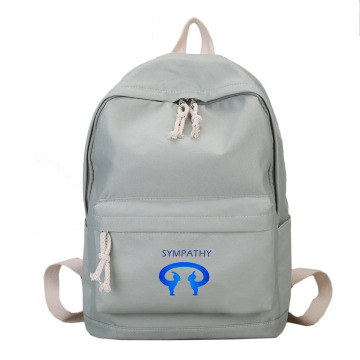 Customize the simple double shoulder bag computer backpack