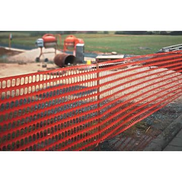 High Strength plastic warning mesh for roadway