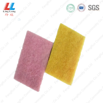 Saucy massaging helpful scouring sponge pad