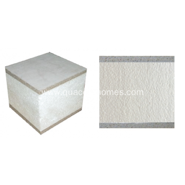 Fiber Cement facing structural insulated panels