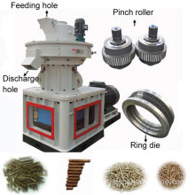 Ring Die Wood Pellet Machine