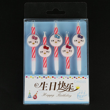 Kids Cartoon Birthday Party Candles