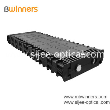 Horizontal Fiber Optic Splice Closure Joint Box 48 Fibers