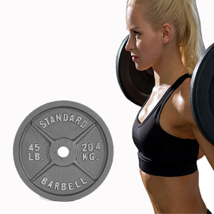 Free Weight Gym Equipment Barbell Discs