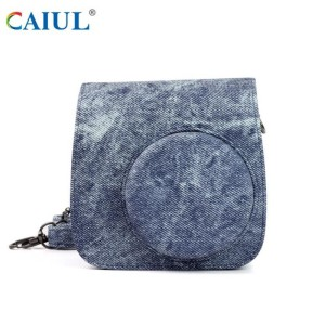 Good Quality for Sweet Style Printing Camera Bag Polaroid Camera Cowboy Leather Camera Bag export to Germany Importers