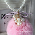 Cute Choker Necklace For Children POM POM Choker With Pearl
