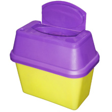 Purchasing for Portable Small Sharps Container, Sharp Disposal Container - China manufacturer. Sharps Container 2.0L supply to Cyprus Manufacturers