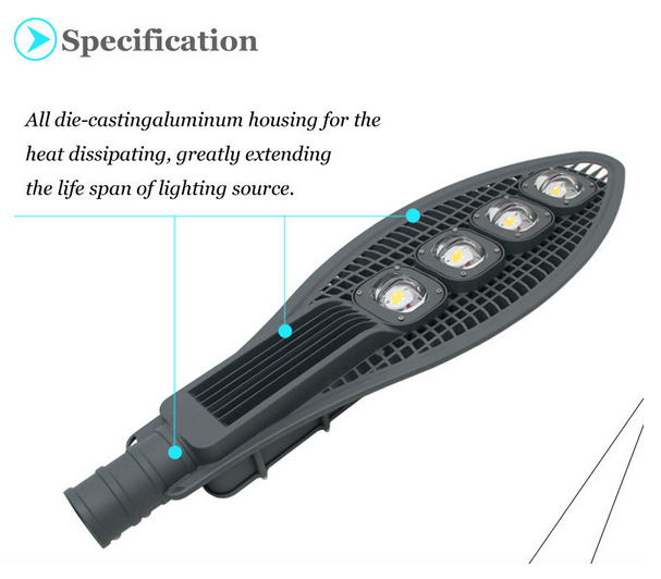 led street light cob