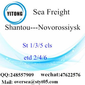 Shantou Port LCL Consolidation To Novorossiysk