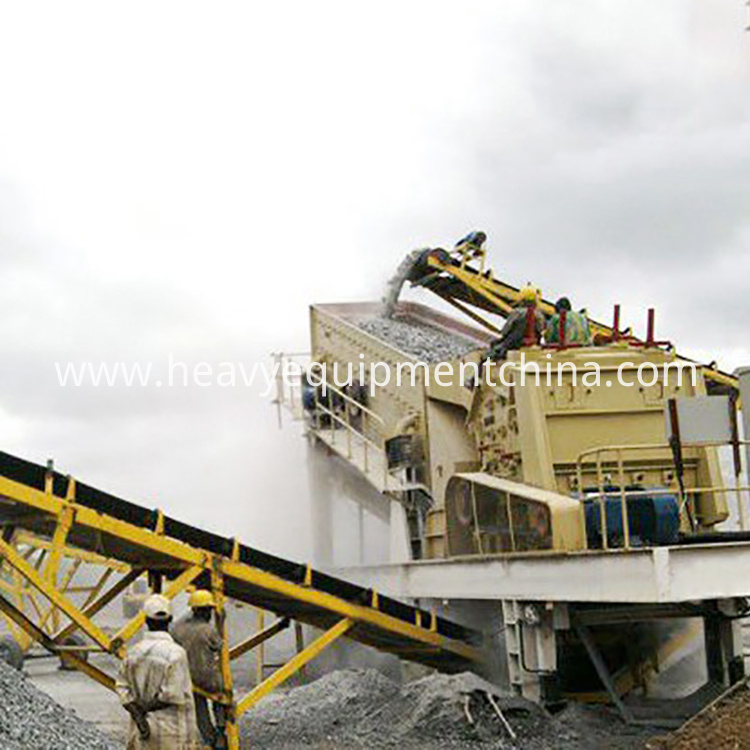 Portable Stone Crusher Machine