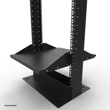 19inch 2U Center Rack Mount Shelf 2Pcs Set