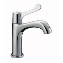 Single Handle Commercial Bathroom Sink Faucet