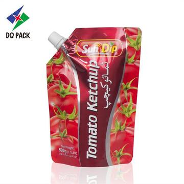 Plastic Stand Up Packaging Bag Spout Bag
