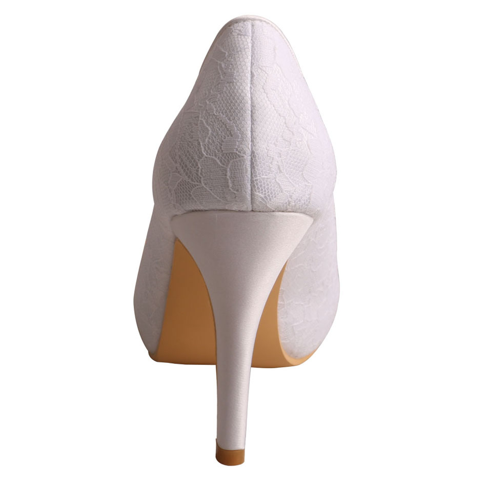 Bridal Shoes with Platform