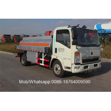 Customized for Refuel Truck,Howo Refuelling Truck,Small Refuelling Truck Manufacturers and Suppliers in China HOWO Refueling 4x2 Fuel Oil Tanker Truck export to Uruguay Factories