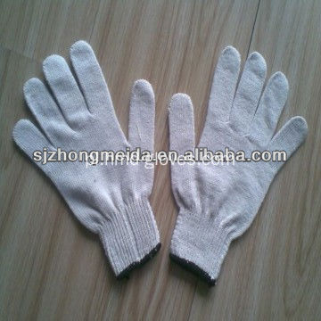 String Knitted Polycotton Gloves