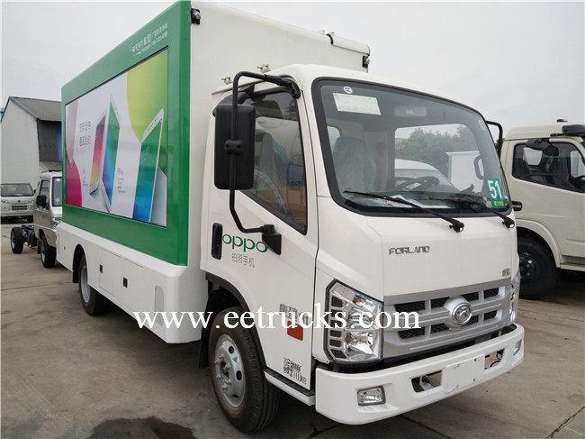P6 P8 P10 LED Advertising Trucks