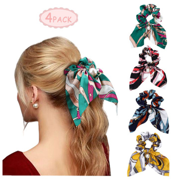 Good Quality for China Hair Bands For Women,Hair Bands,Spiral Hair Bands Manufacturer Scarf Scrunchies Pearls Satin Hair Ties export to Liberia Supplier