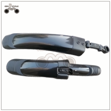 High strength mountain bicycle fender with quick release