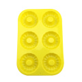 silicone 3d flower shape muffin cake mold