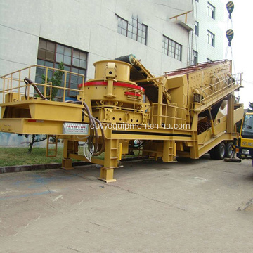 Mobile VSI Sand Crushing Plant For Stone Production