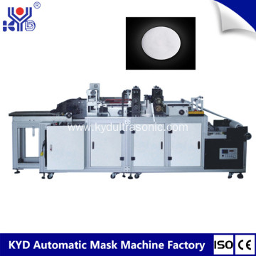 Disposable Round Cotton Pad Making Machine