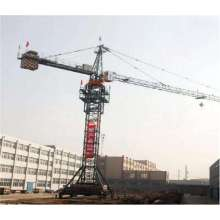 China for Travelling Topkit Tower Crane QTZ125 TC6515 10t Travelling Moving Tower Crane export to Spain Importers