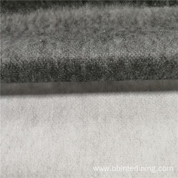 Polyester nylon mixed coating fusible nonwoven  interlining