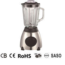 Good Quality for Glass Jar Blenders 450W Ice crushing stainless steel housing food blender supply to Italy Factory