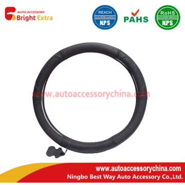 Quality for Leather Steering Wheel Wrap Real Leather Steering Wheel Cover supply to Zambia Exporter