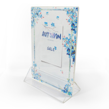 US letter Standard 8.5*11 A5 Acrylic Sign Holder
