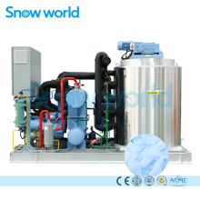 Snow world 10Tons Fish Market Flake Ice Machine