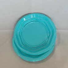 "7""9""Blue PP Plates Cheap Wholesale"