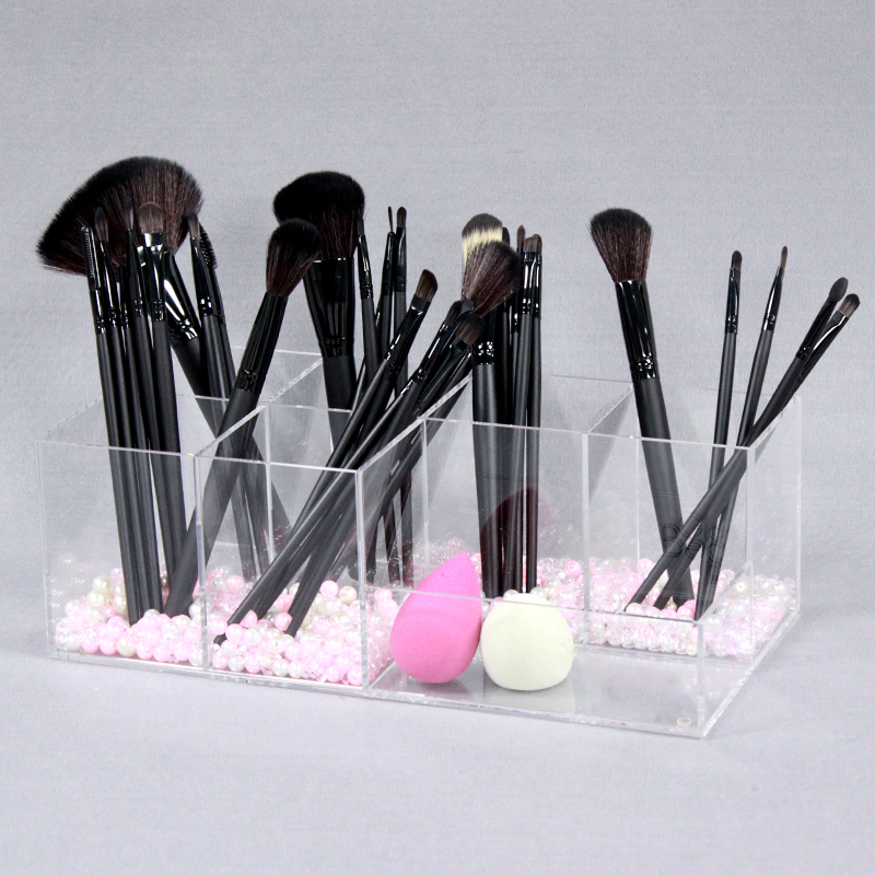 clear acrylic makeup brush organizer china manufacturer. Black Bedroom Furniture Sets. Home Design Ideas