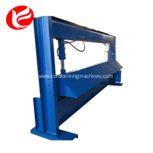Hydraulic steel manual sheet metal shearing machine