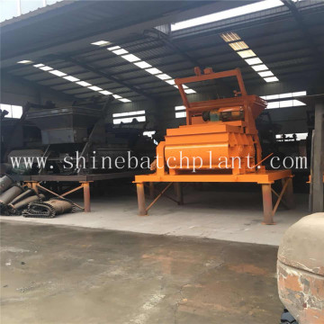 Double Shaft Concrete Mixer For Sale