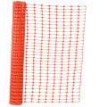 Orange color road warning safety warning net