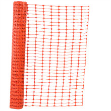 orange construction barrier fence safety net