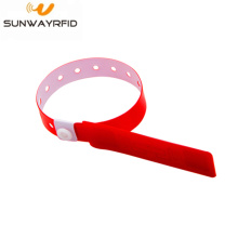 Factory wholesale price for RFID Pvc Wristbands MIFARE® Classic RFID PVC Disposable Wristbands export to Vanuatu Factories