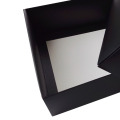 Cheap Small MOQ Black Color Watch Paper Box